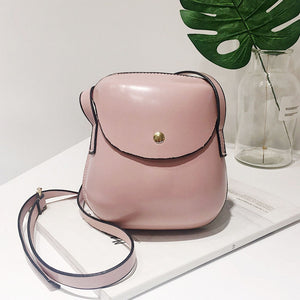 Woman Mini Leather Shoulder Bag