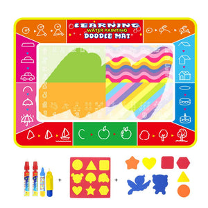 Funny Magic Coloring Book Doodle Mat