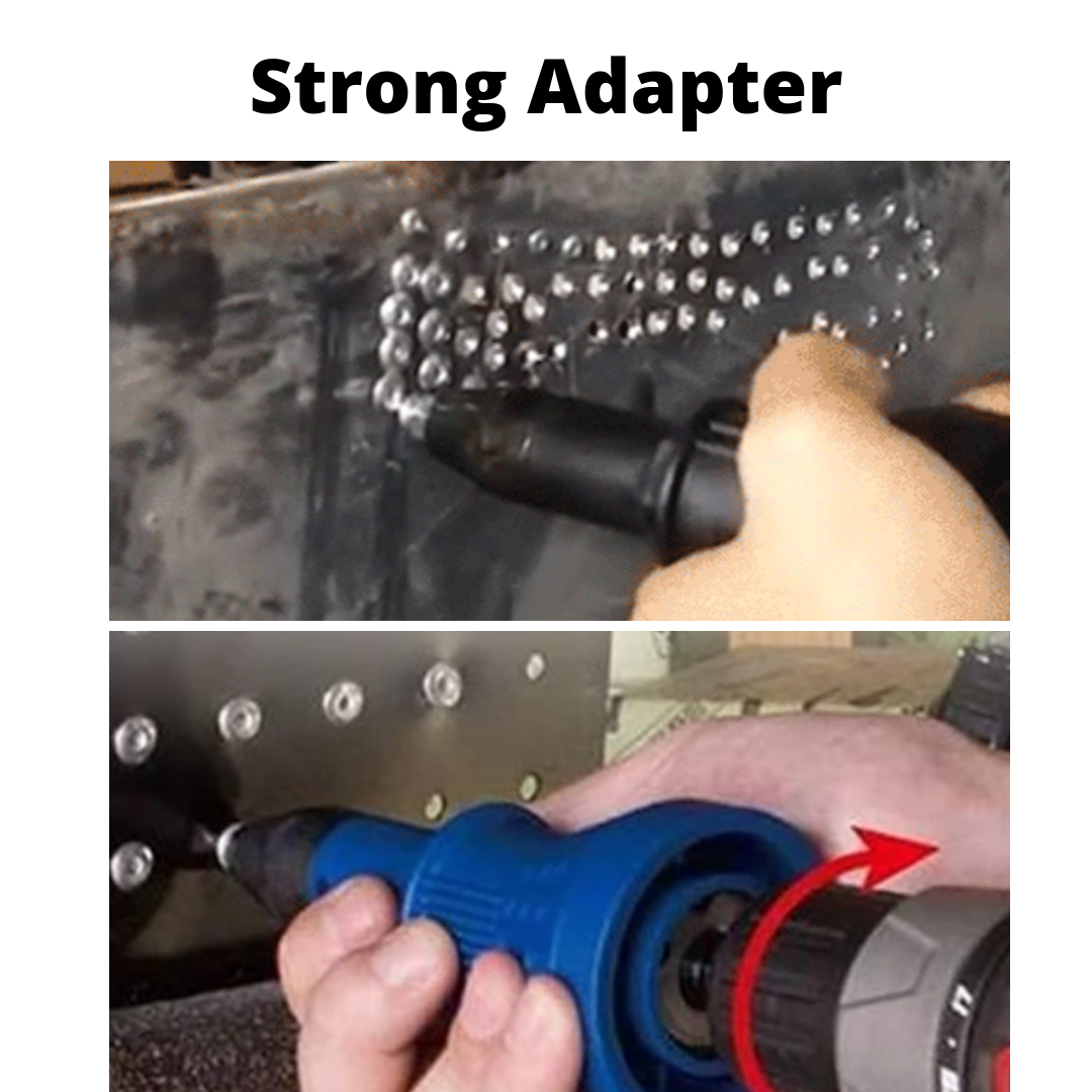 UPI POWER: 3 in 1 Compact & Quick Detachable Rivet Gun