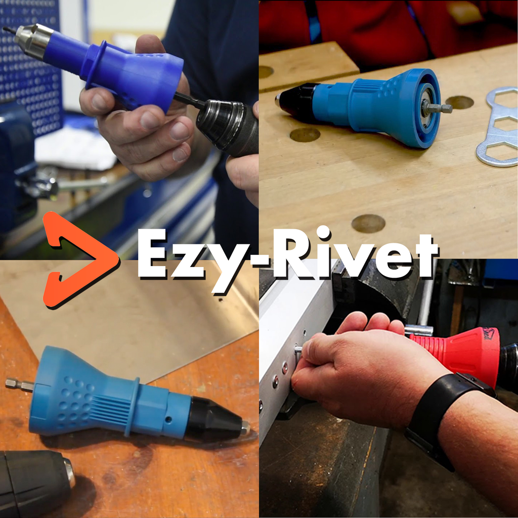 Ezy-Rivet Quick Attach Rivet Gun