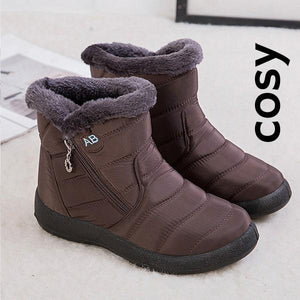 COSY Warm Winter Waterproof Snow Boot