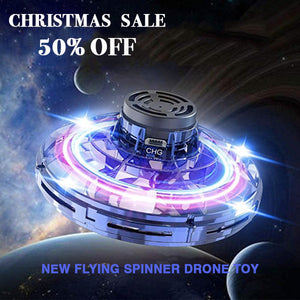 [50% OFF] Best Christmas Gift - Flying Spinner Drone Toy
