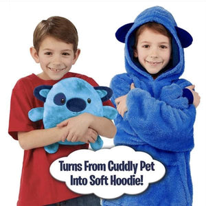 50% OFF TODAY: Cute Pets Hoodie For Children