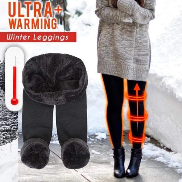 50% OFF TODAY: Ultra Warm Fleece Leggings