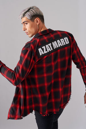 IMPACT RED/BLACK IMPACT FLANNEL CHECK SHIRT
