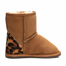 Load image into Gallery viewer, Short Tan Leopard Boots