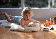 Load image into Gallery viewer, Babycare Shorn Wool Sheepskin Rug
