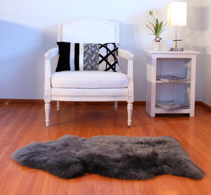 Single Piece Sheepskin Rug