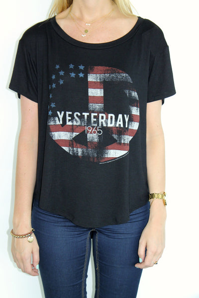 Yesterday Peace Tee