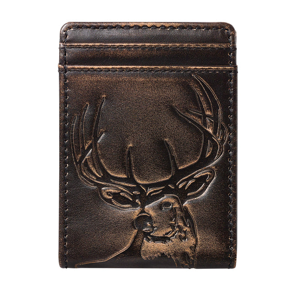 Deer Bifold Front Pocket