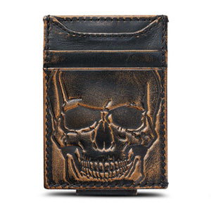 Skull Magnetic Front Pocket