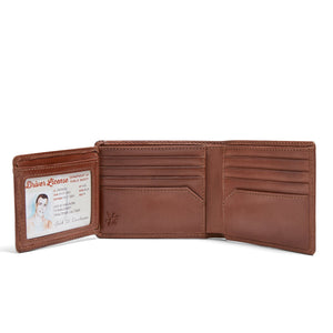 Baseball Double ID Bifold Wallet