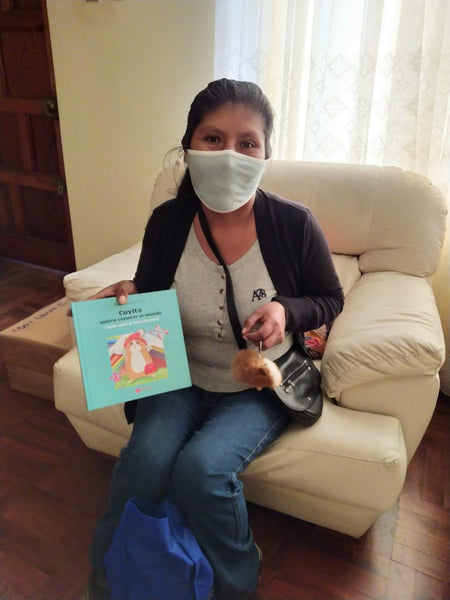 Bilingual Fair Trade Book For Kids: Cuyita Wants To Know The World