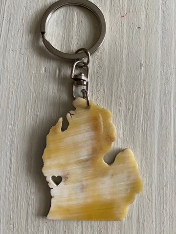 Michigan Key Chain