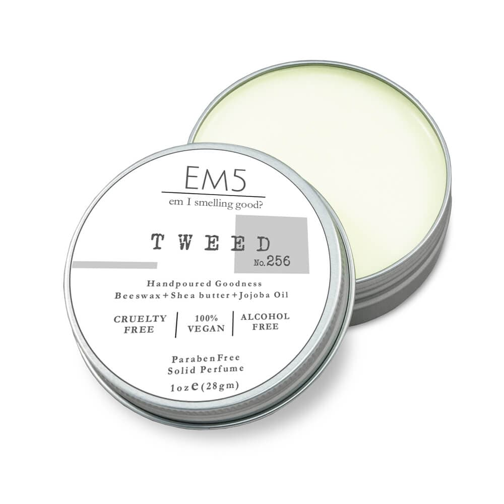 Em5's Tweed Solid Perfume, Inspired from Greeenn Irisshh Tweeedd by Creeedd