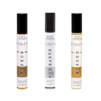 Em5's Best Of Oud Premium Combo Set, Impression of Oud Minerralle by Tomm Forrdd | Oud Musk by Killiannn | Tobacco Oud by Tomm Forrdd | Pack of 3 | 1/3oz (10ml) each.