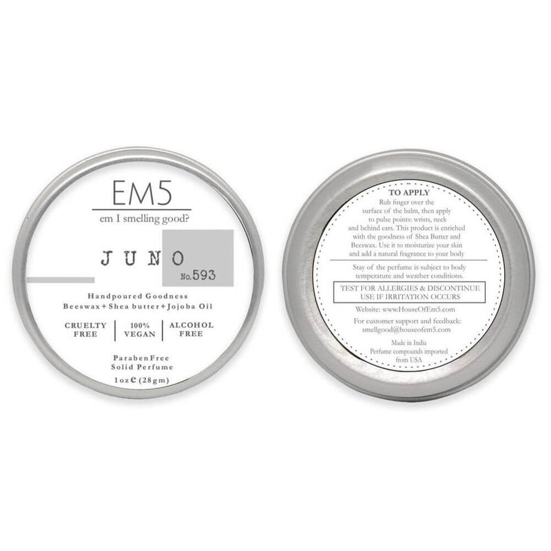 Em5's Juno Solid Perfume for Women, Inspired from Number 5 by Channeell
