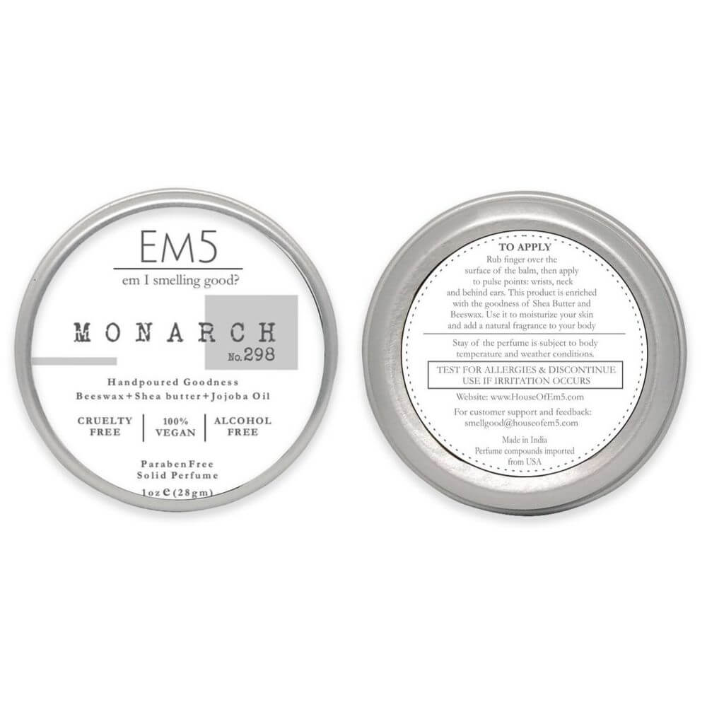 Em5's Monarch Solid Perfume, Inspired from Laa Nuitt L Hommmee by YSLL