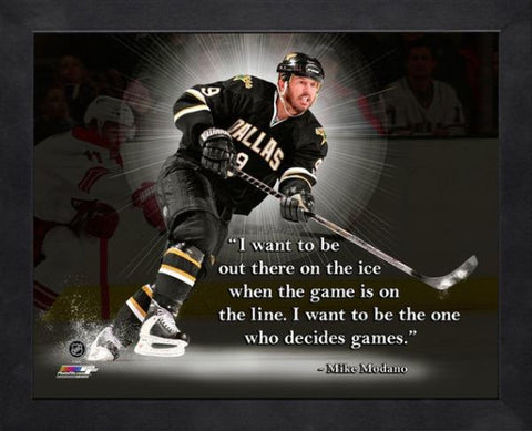 Mike Madano Framed Pro Quote