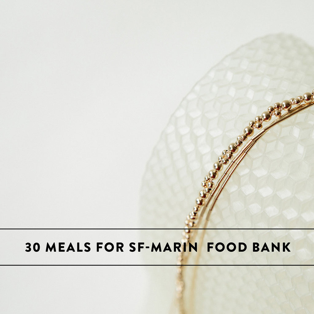 April: 30 Meals for SF-Marin Food Bank