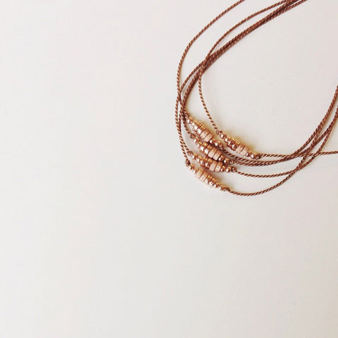 Rose Gold Friendship Bracelets