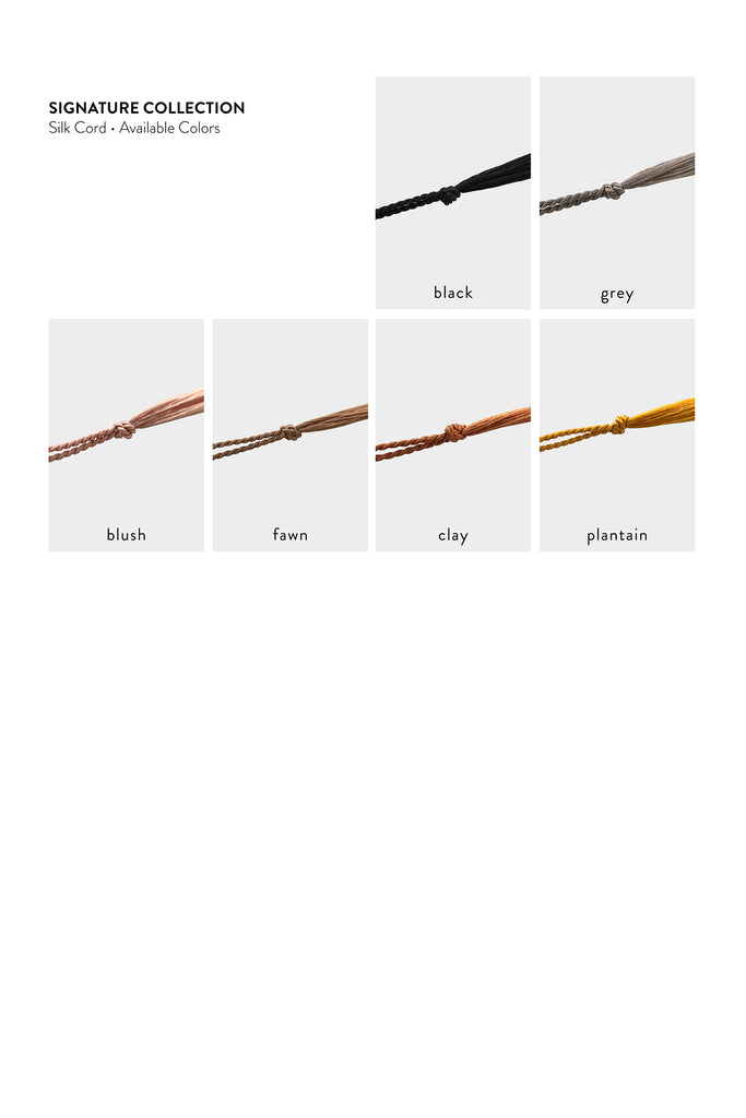 Signature Collection Cord Colors - Abacus Row Handmade Jewelry