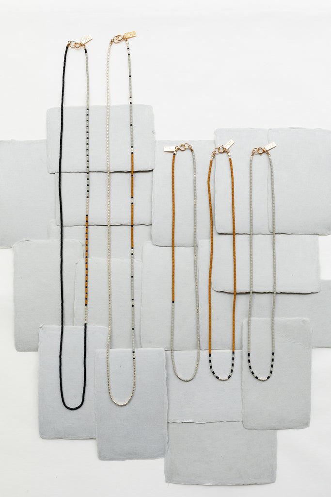 Alluvial Collection, Cloudscape - Abacus Row Handmade Jewelry