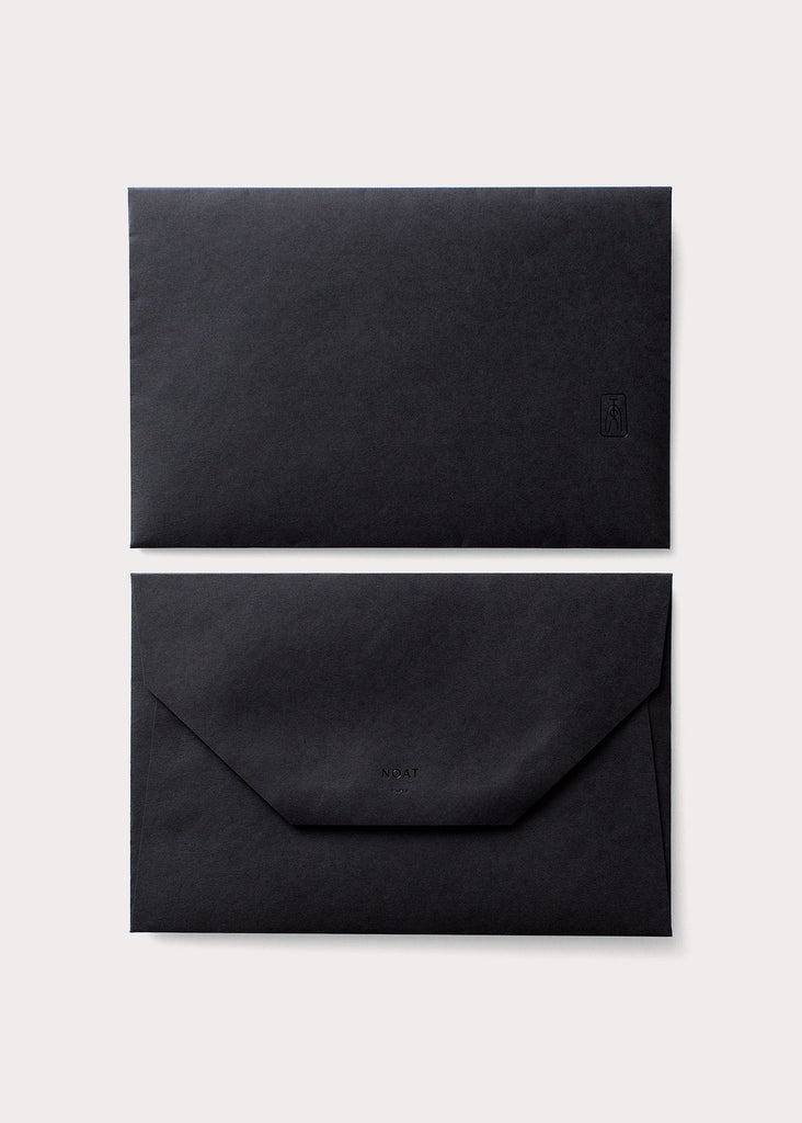 NOAT Black Birthday Card Envelope