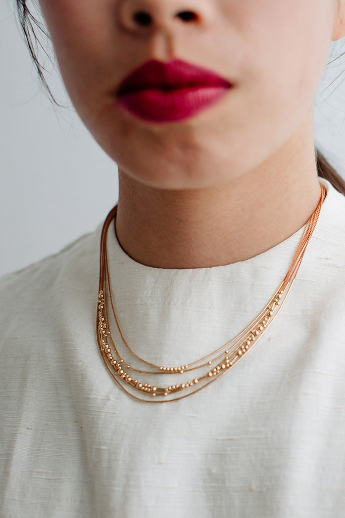 Crux Necklace | Wedding Edit - Abacus Row