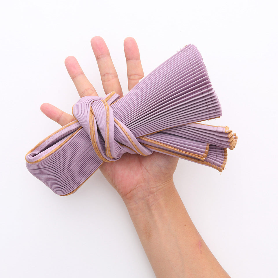 Small Pleated Pleco Tote Bag by KNA Plus Knot