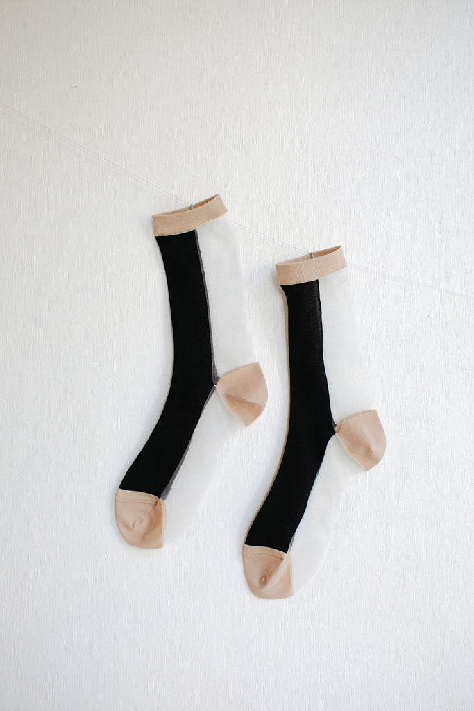 Hansel from Basel B-Side Sheer Crew Socks