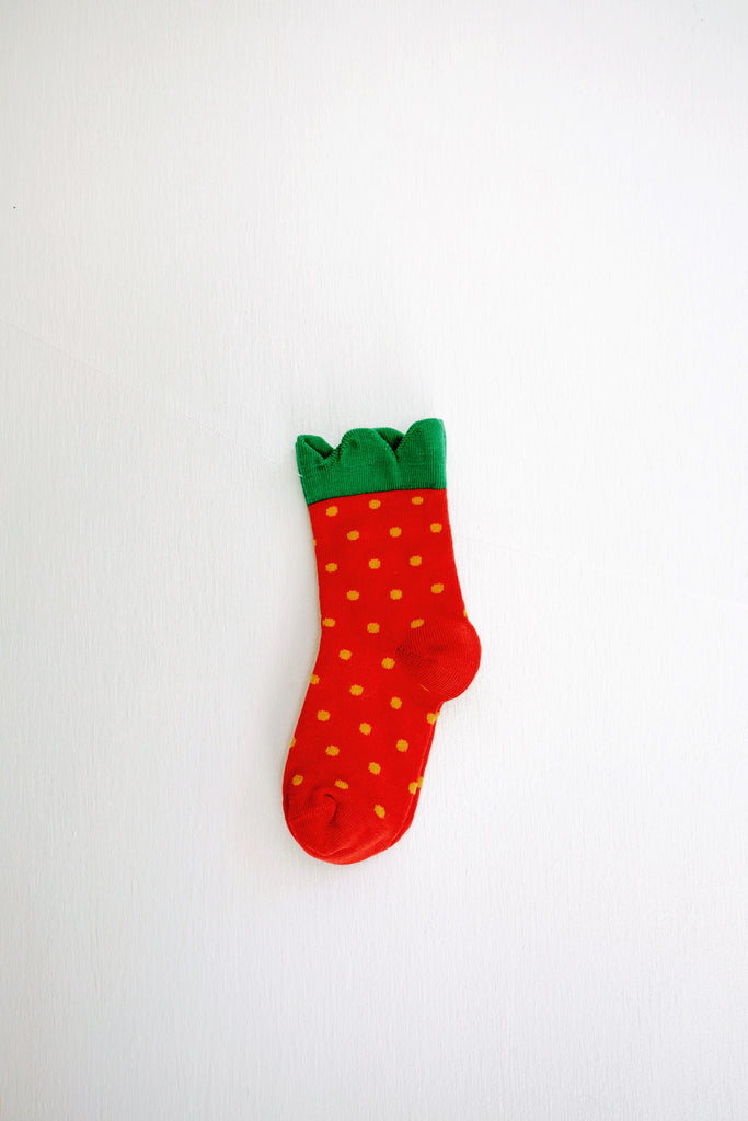 Hansel from Basel Mini Strawberry Crew Socks
