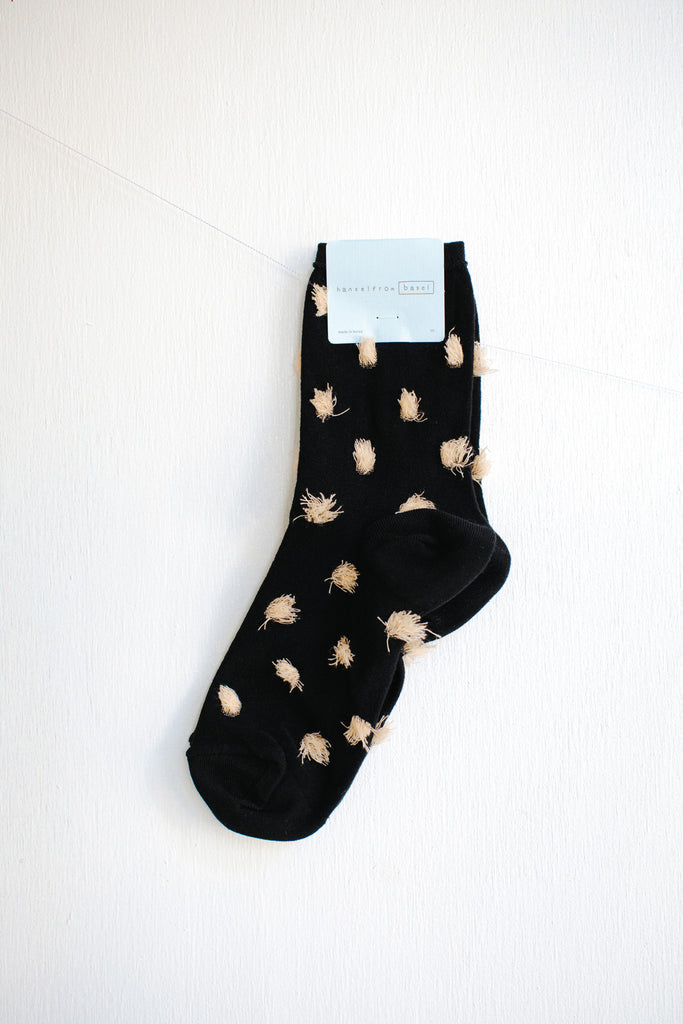Hansel from Basel Nori Crew Socks - Black