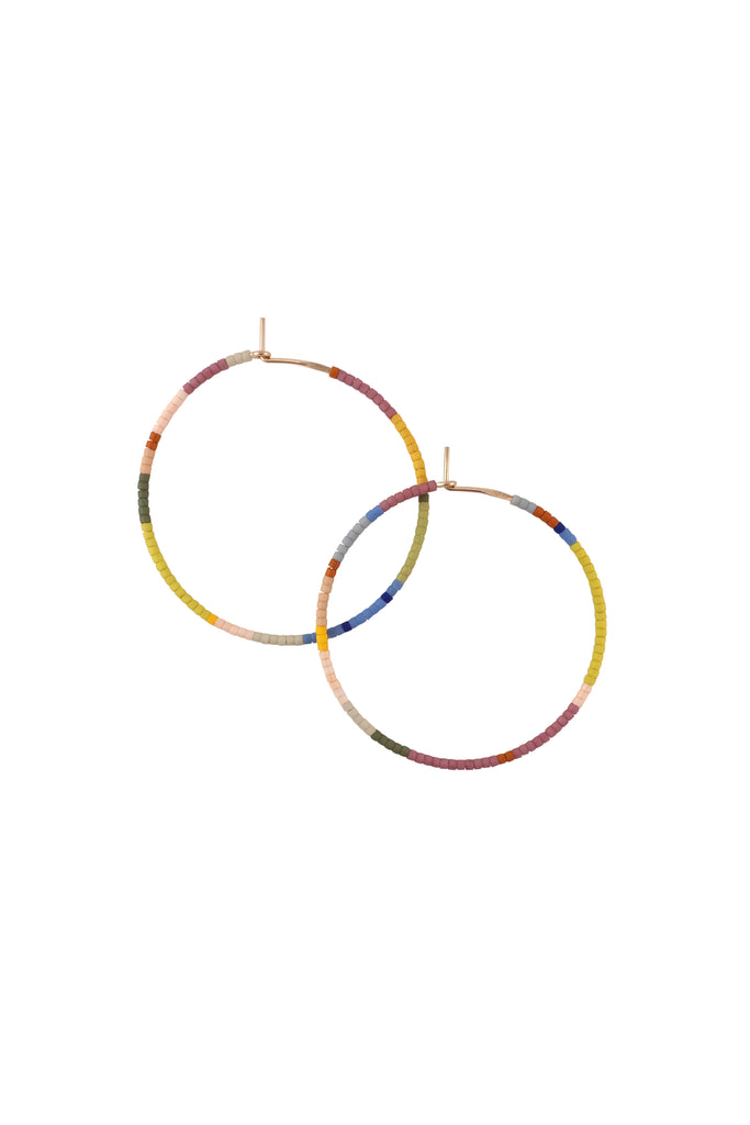 Habitual Hoops, Perennial - Large - Abacus Row Handmade Jewelry