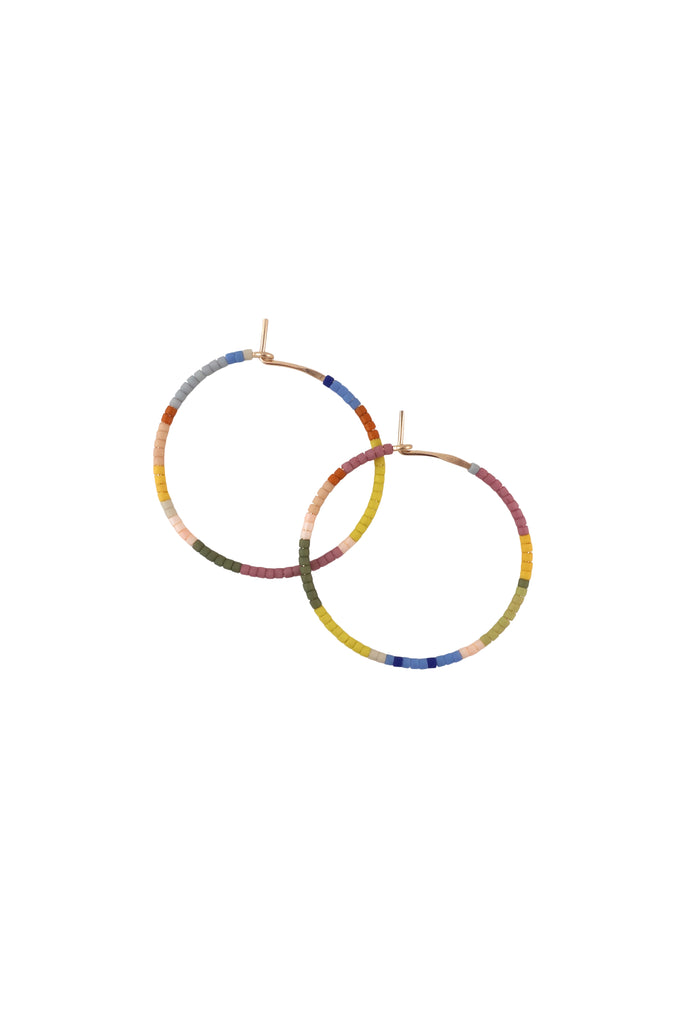 Habitual Hoops, Perennial - Small - Abacus Row Handmade Jewelry