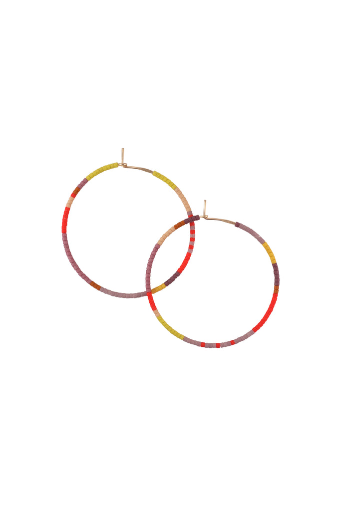Habitual Hoops, Annual - Large - Abacus Row Handmade Jewelry