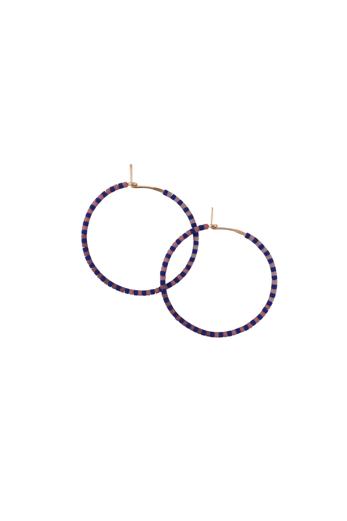 Progressions Hoops, Perennial - Small - Abacus Row Handmade Jewelry