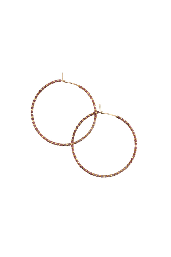 Limited Edition! Progressions Hoops, Gold - Large