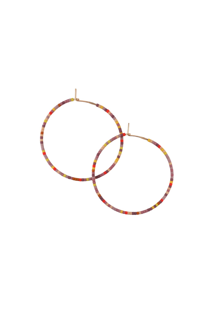 Letting Go Hoops, Annual - Large - Abacus Row Handmade Jewelry