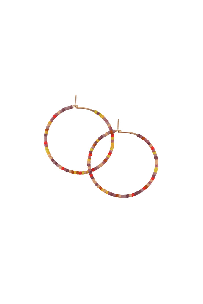 Letting Go Hoops, Annual - Small - Abacus Row Handmade Jewelry