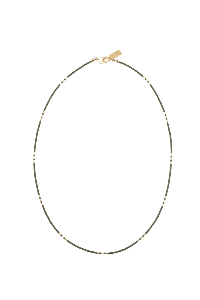 Carme Necklace, Palm