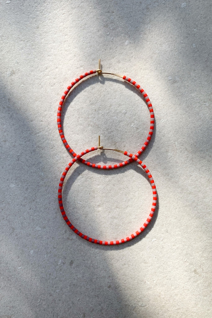 Progressions Hoops, Annual - Large - Abacus Row Handmade Jewelry