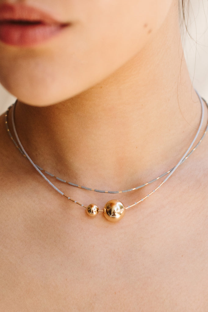 Selene Collection Necklaces by Abacus Row Handmade Jewelry