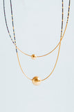 Vernonia Necklace Sea - Abacus Row