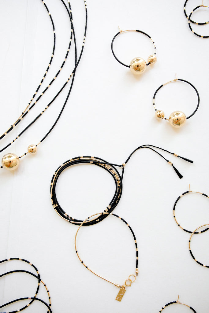 Ink Selene Collection by Abacus Row Handmade Jewelry