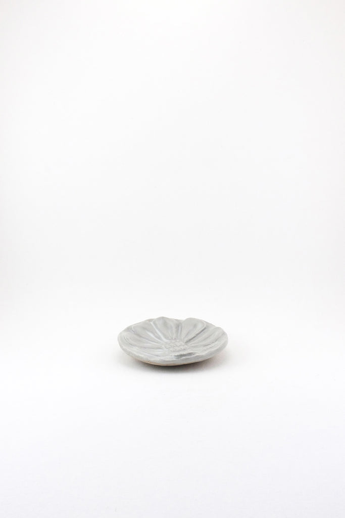 Floral Dish, Carved - Small