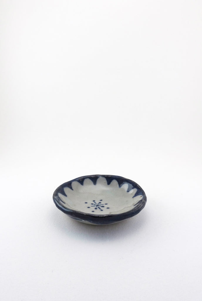 Floral Dish, Painted - Small