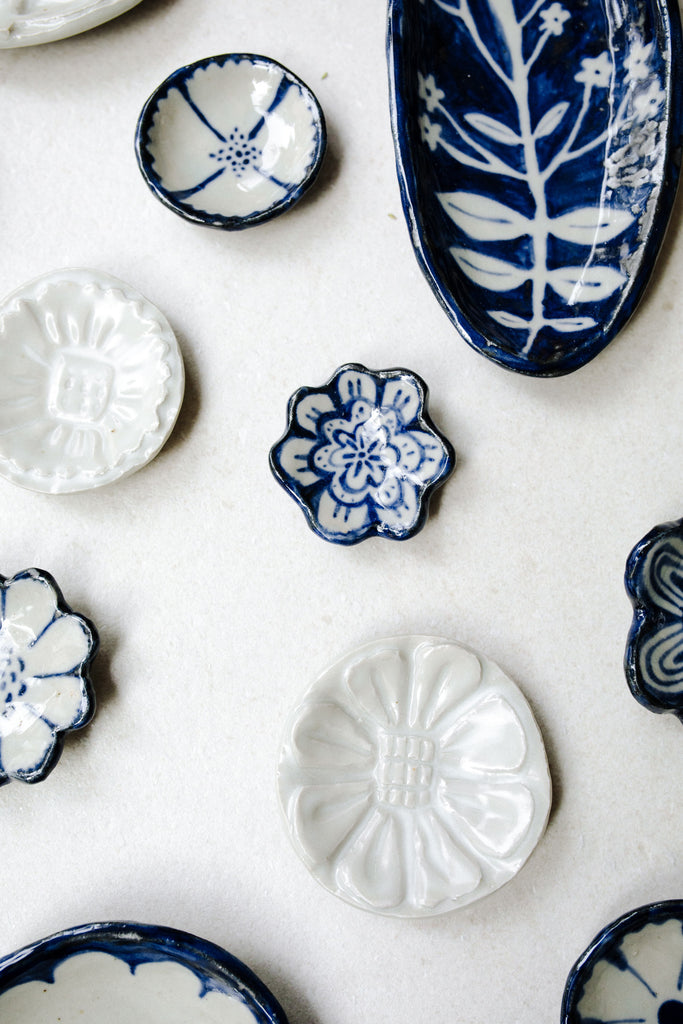 mixed ceramics by Ariel Clute