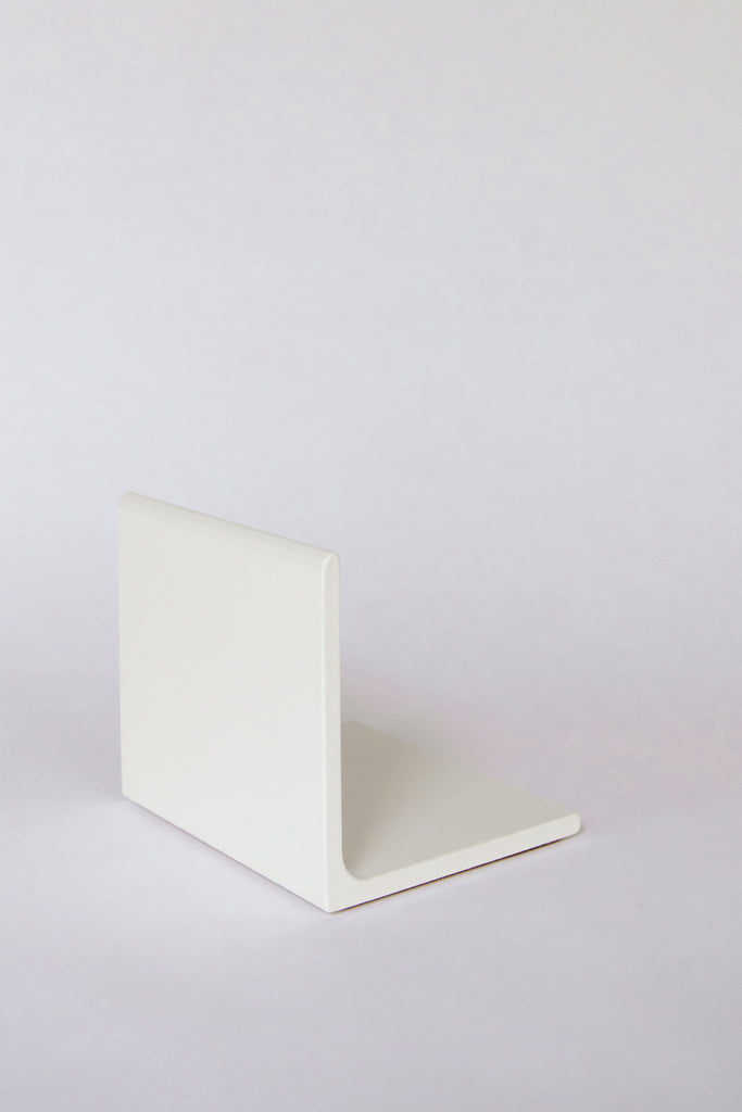 White Bookends by Hannah Beatrice Quinn at Abacus Row