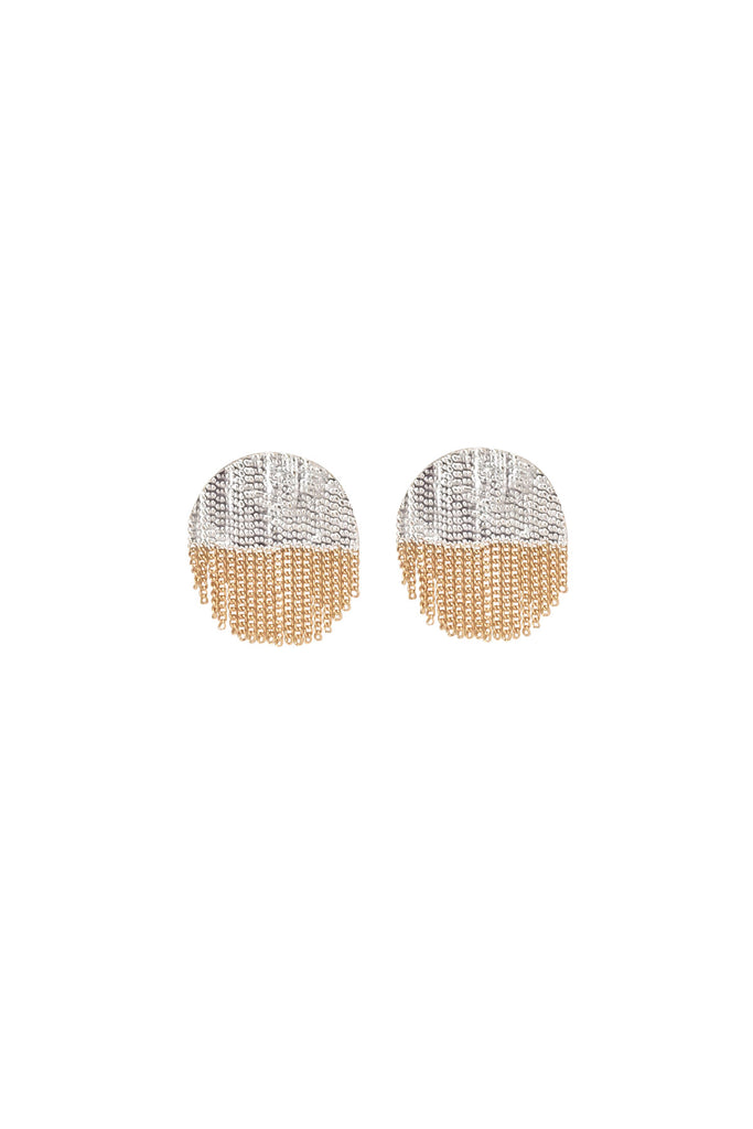 Half Circle Stud Earrings by Hannah Keefe